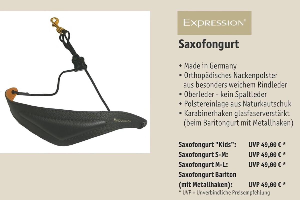 EXPRESSION Instruments Saxofongurt