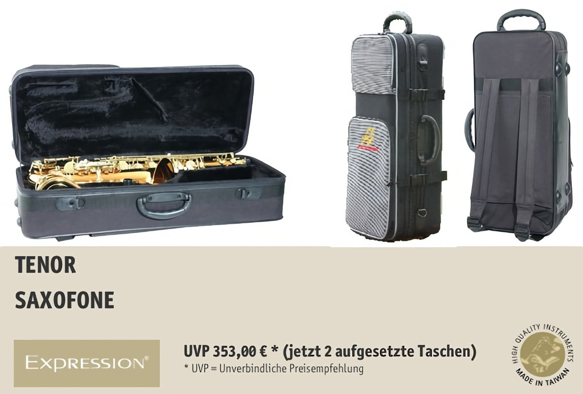 EXPRESSION Instruments Tenor Saxofone