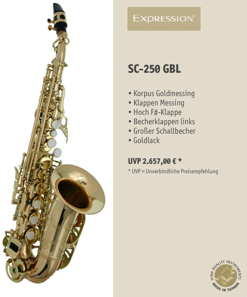EXPRESSION Instruments SC-250 GBL