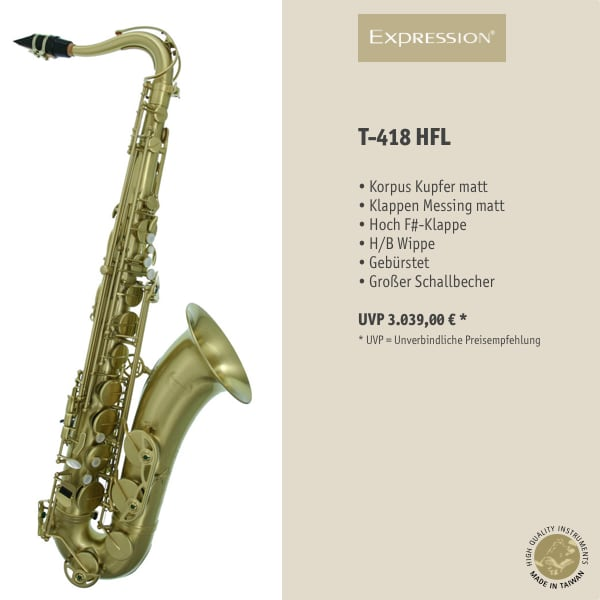 EXPRESSION Instruments T-418 HFL