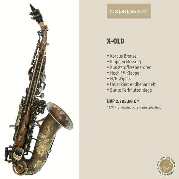 EXPRESSION Instruments X-OLD